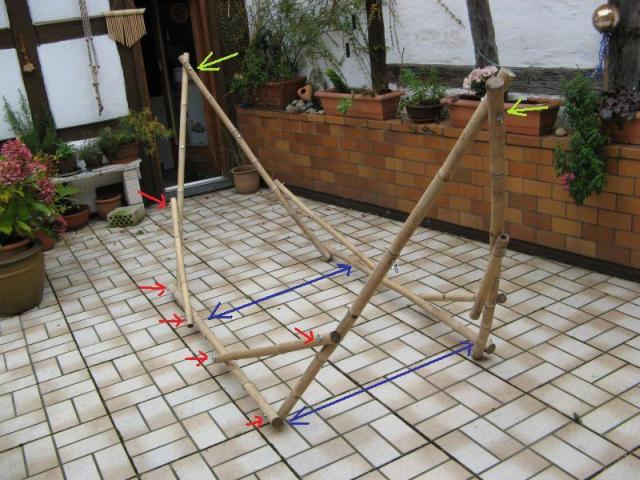 Hängemattengestell Selber Bauen bambushuette de hängematten babytragetücher mehr aus kambodscha
